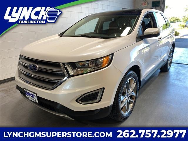 2018 Ford Edge Vehicle Photo in Burlington, WI 53105