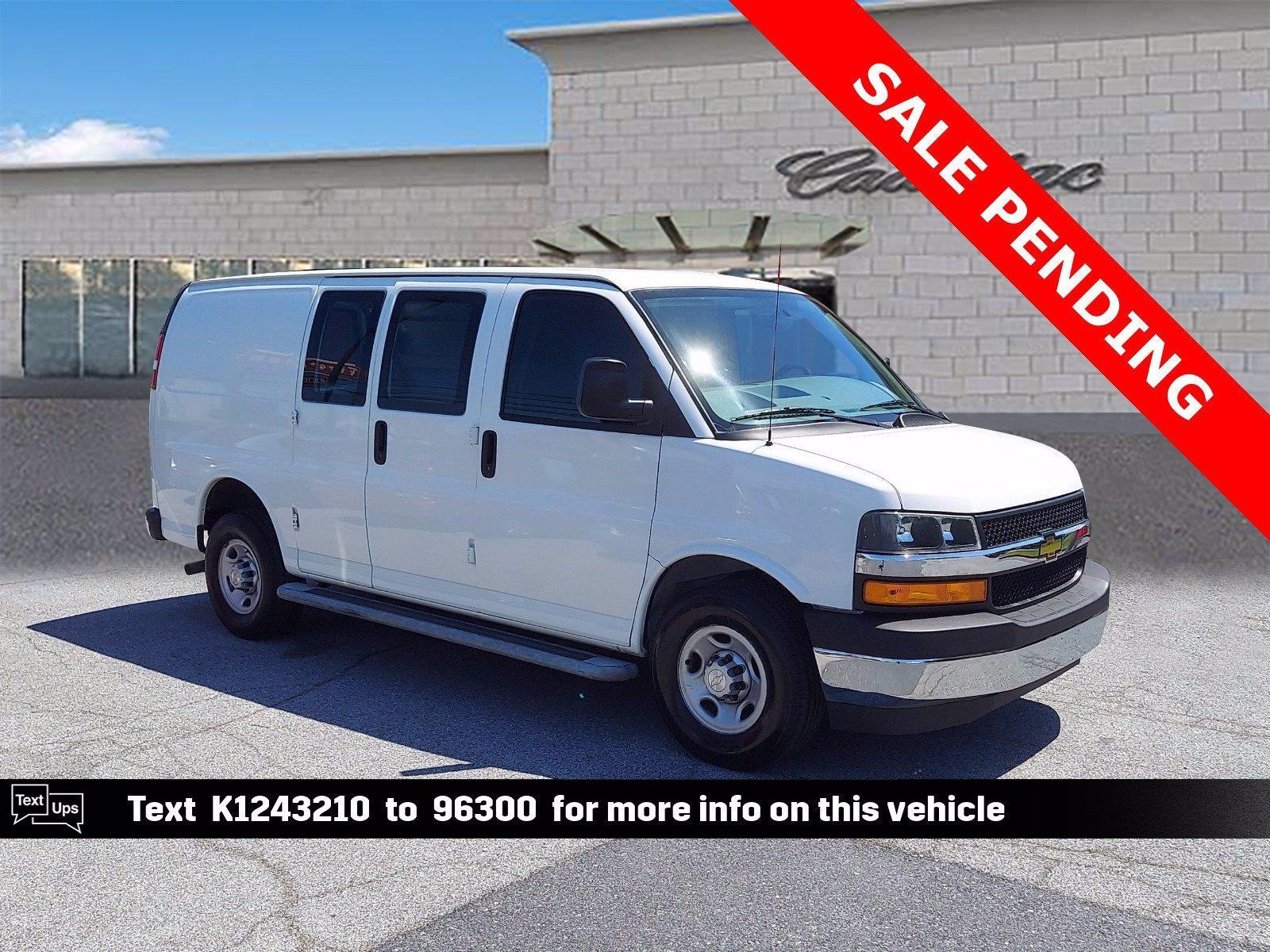 2019 Chevrolet Express Cargo Van Vehicle Photo in Trevose, PA 19053-4984