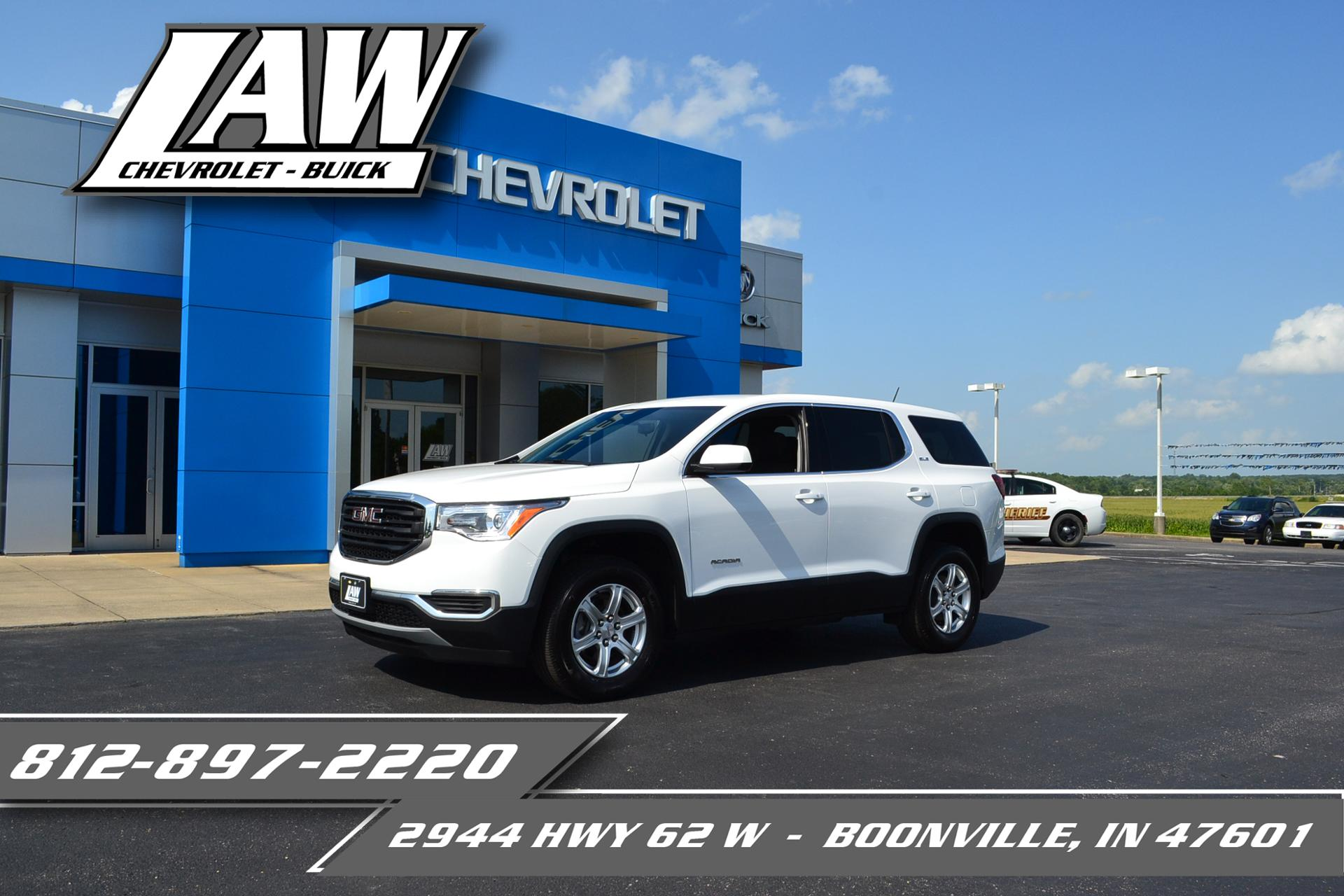 2019 GMC Acadia Vehicle Photo in BOONVILLE, IN 47601-9633