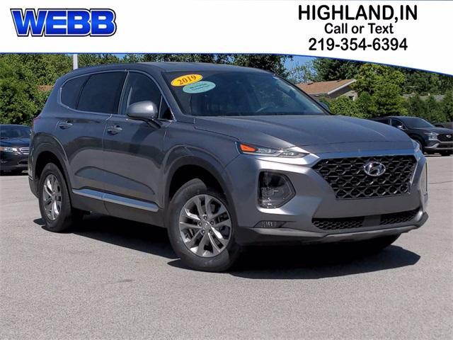 2019 Hyundai Santa Fe Vehicle Photo in Highland, IN 46322