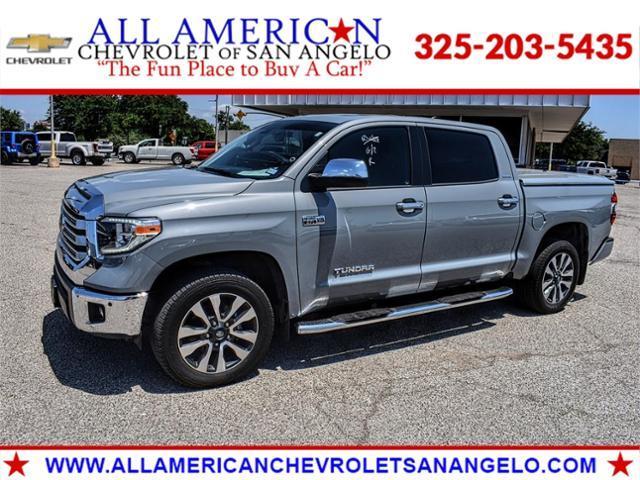 2020 Toyota Tundra 4WD Vehicle Photo in SAN ANGELO, TX 76903-5798