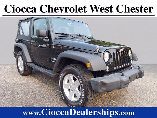 2016 Jeep Wrangler Vehicle Photo in WEST CHESTER, PA 19382-4976
