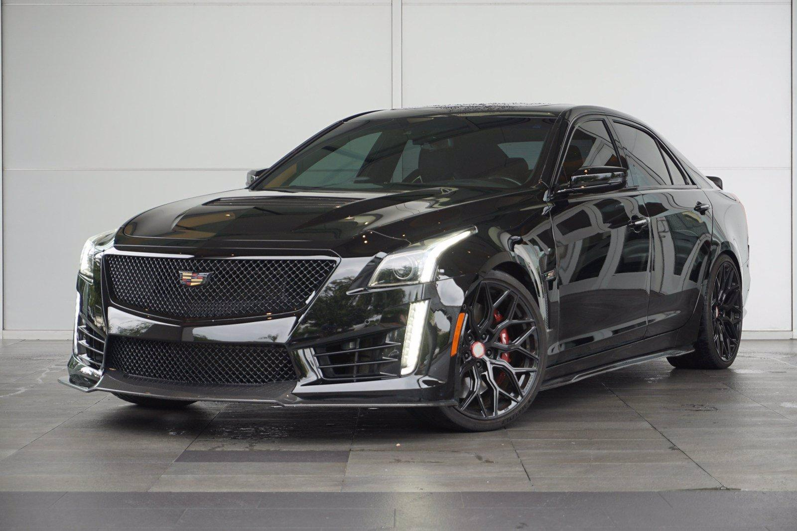 2019 Cadillac CTS-V Sedan Vehicle Photo in Houston, TX 77079