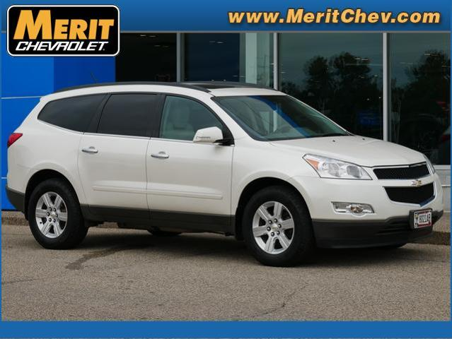 2012 Chevrolet Traverse Vehicle Photo in MAPLEWOOD, MN 55119-4794