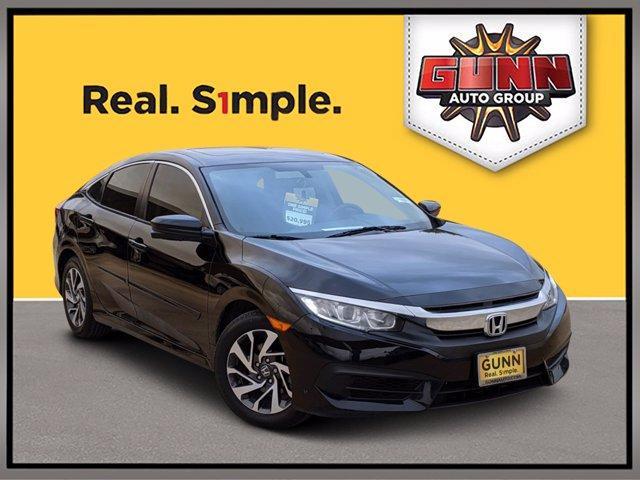 2018 Honda Civic Sedan Vehicle Photo in Selma, TX 78154