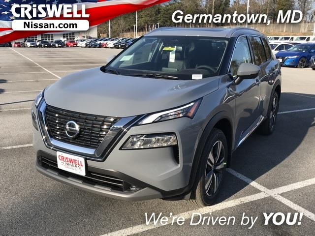 Boulder Gray Pearl 2021 Nissan Rogue Awd Sl For Sale At Criswell Auto 5n1at3cb9mc694407