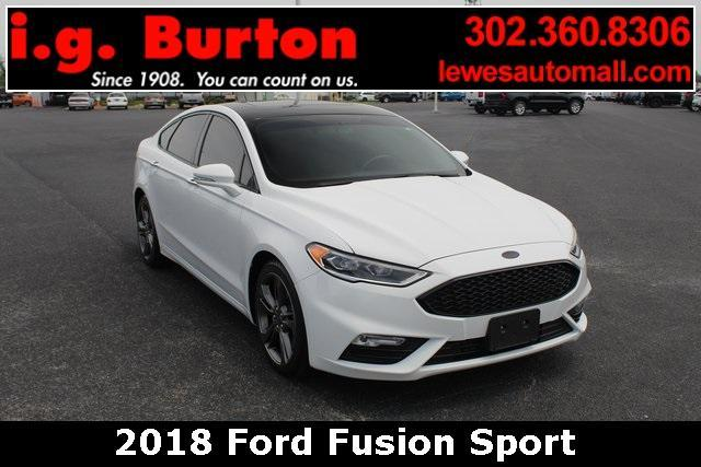 2018 Ford Fusion Vehicle Photo in Lewes, DE 19958