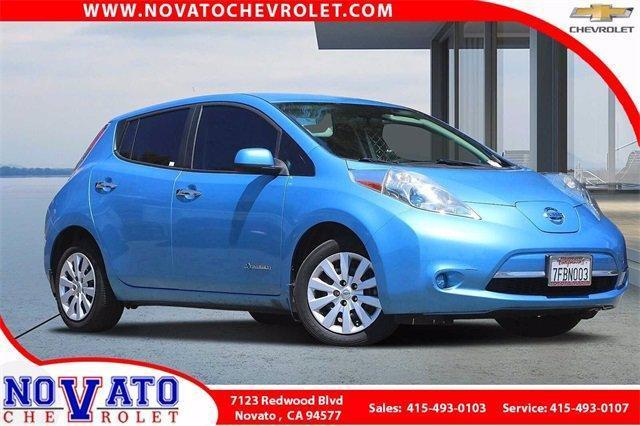 2014 Nissan LEAF Vehicle Photo in NOVATO, CA 94945-4102