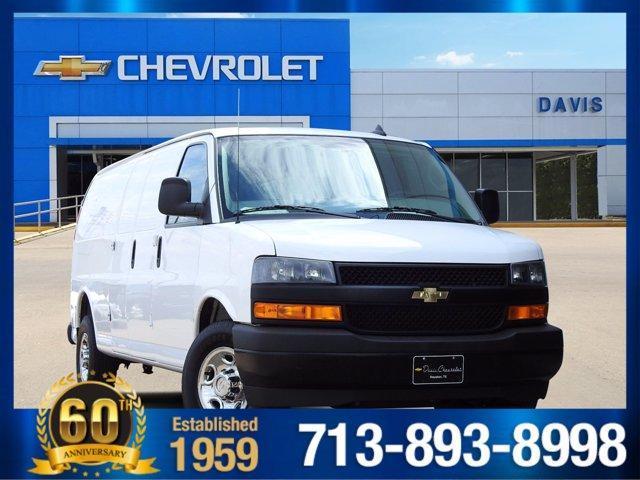 2019 GMC Savana Cargo Van Vehicle Photo in Houston, TX 77054