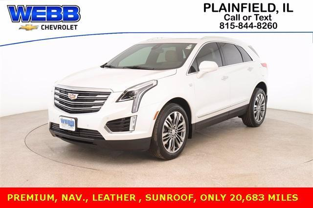 2018 Cadillac XT5 Vehicle Photo in PLAINFIELD, IL 60586-5132