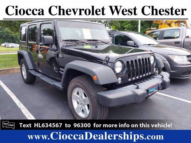 2017 Jeep Wrangler Unlimited Vehicle Photo in WEST CHESTER, PA 19382-4976