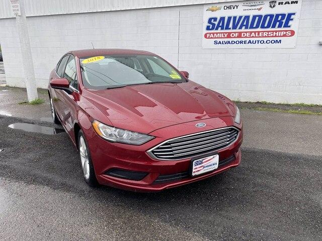 2018 Ford Fusion Hybrid Vehicle Photo in GARDNER, MA 01440-3110