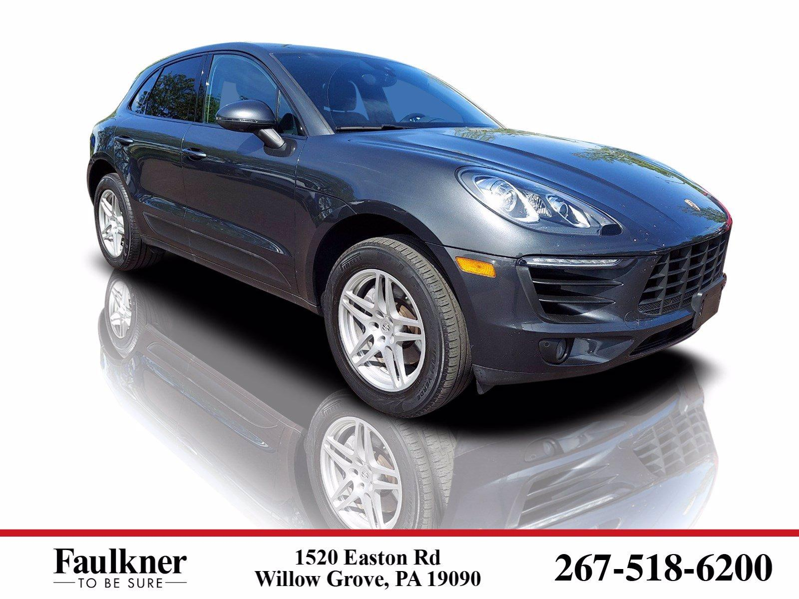 2018 Porsche Macan Vehicle Photo in Willow Grove, PA 19090