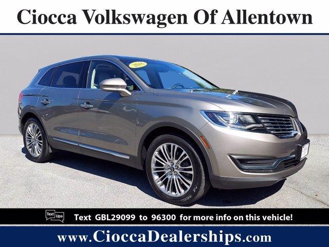 2016 LINCOLN MKX Vehicle Photo in Allentown, PA 18103