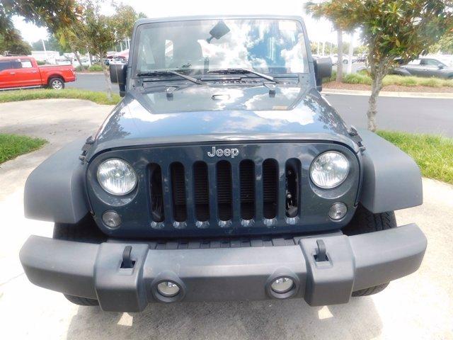 2018 Jeep Wrangler JK Unlimited Vehicle Photo in Wilmington, NC 28405