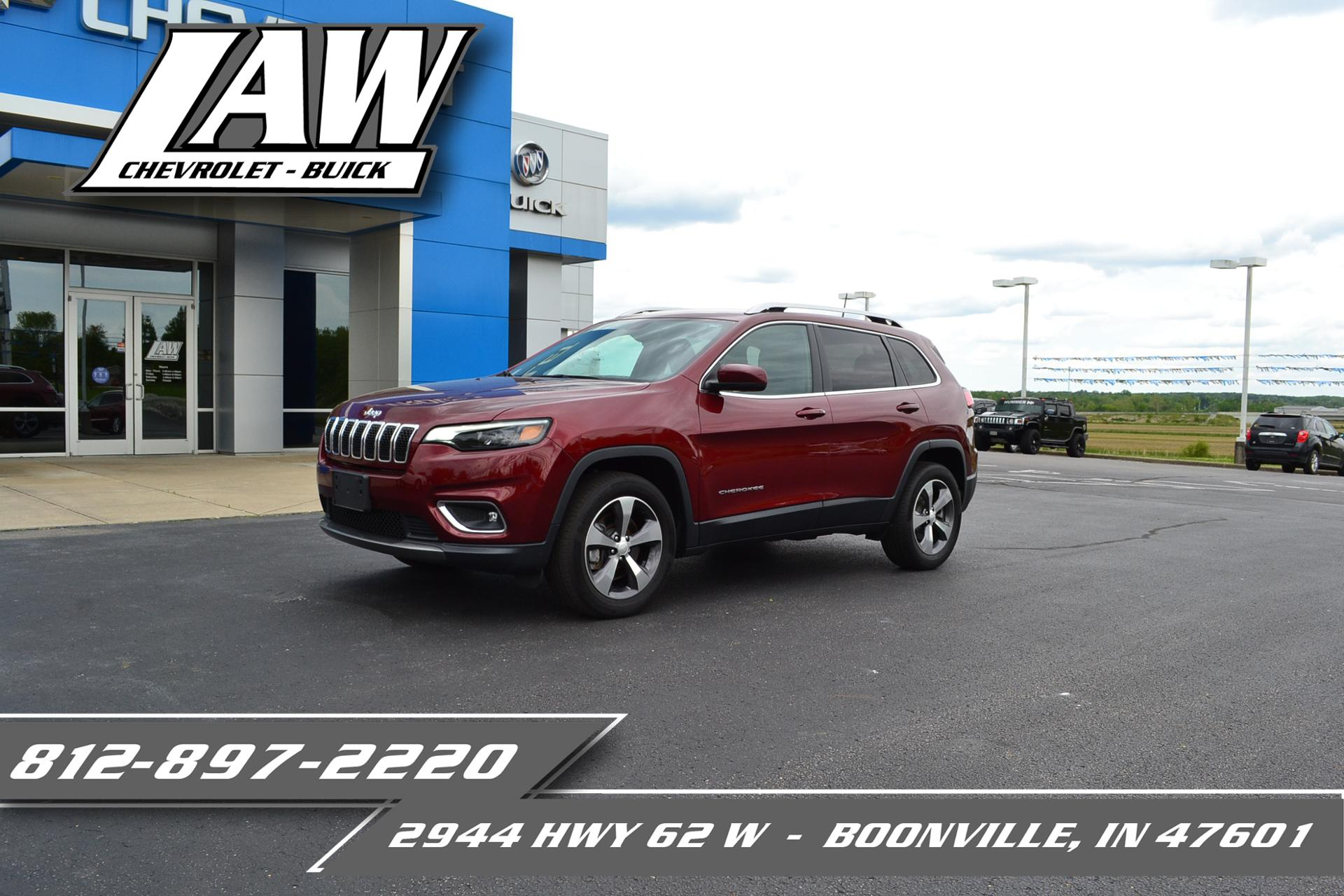 2019 Jeep Cherokee Vehicle Photo in BOONVILLE, IN 47601-9633