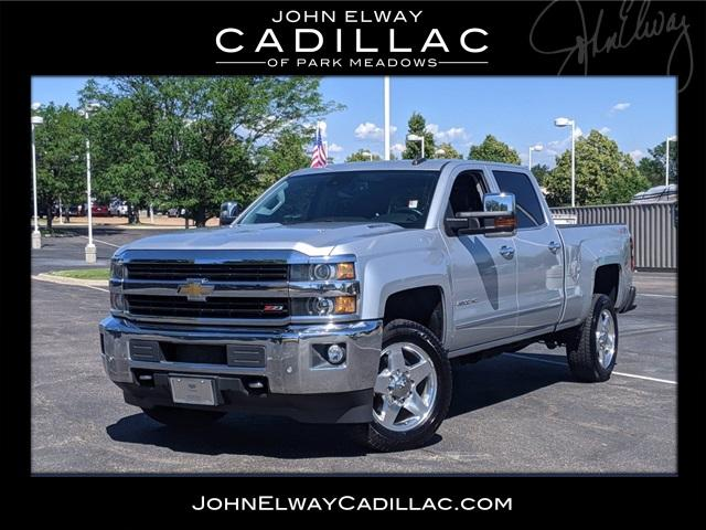 2015 Chevrolet Silverado 2500HD Built After Aug 14 Vehicle Photo in LONE TREE, CO 80124-2754