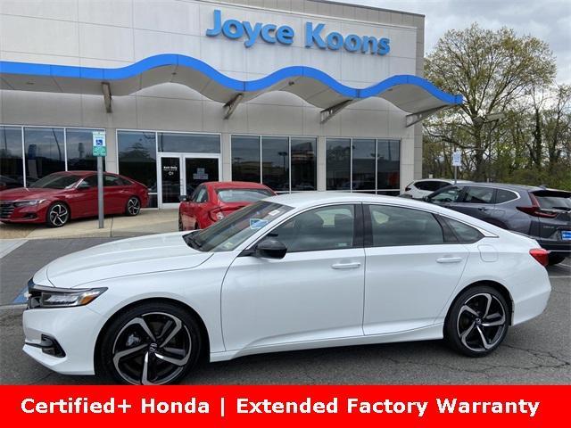 2021 Honda Accord Sedan Vehicle Photo in Manassas, VA 20109