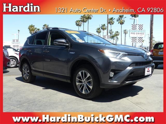 2017 Toyota RAV4 Hybrid Vehicle Photo in Anaheim, CA 92806