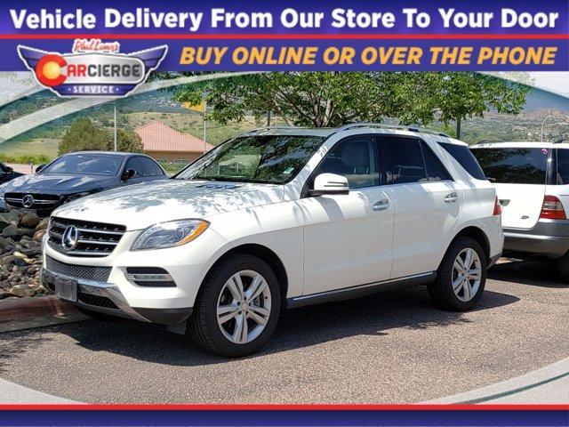 2013 Mercedes-Benz M-Class Vehicle Photo in Colorado Springs, CO 80905