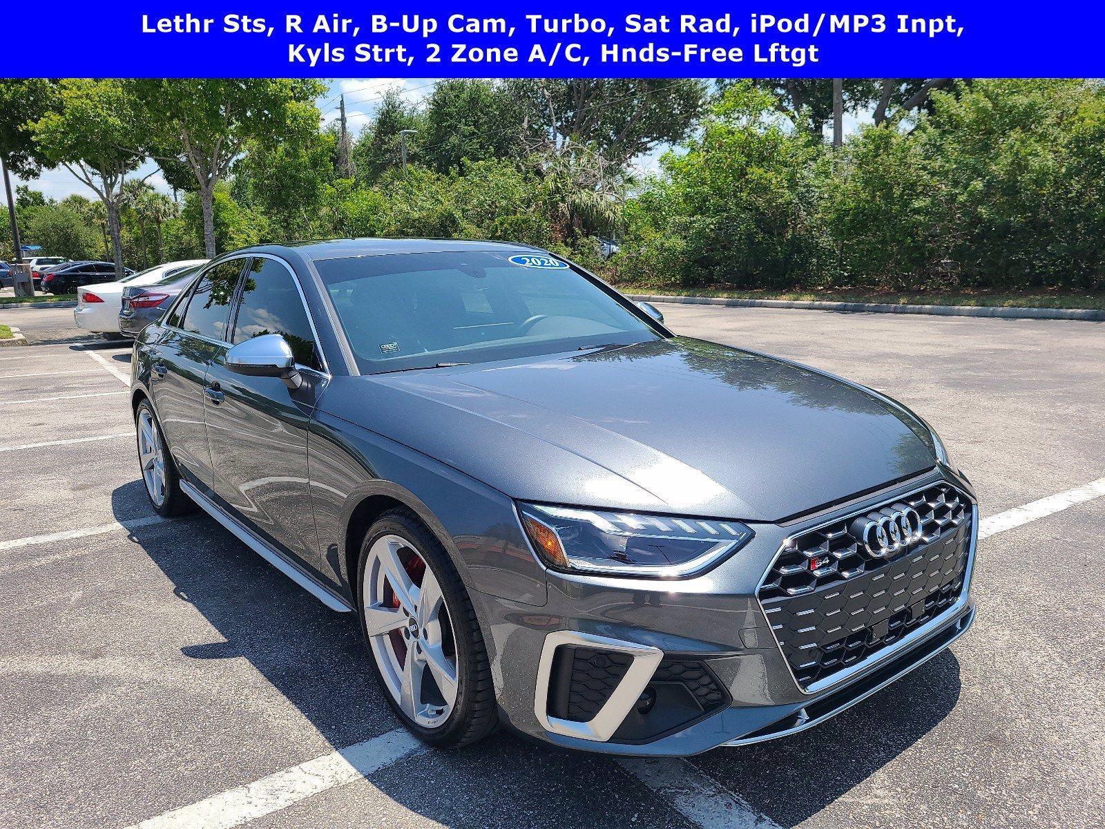 2020 Audi S4 Vehicle Photo in NAPLES, FL 34109