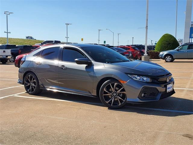 2017 Honda Civic Hatchback Vehicle Photo in Fort Worth, TX 76116