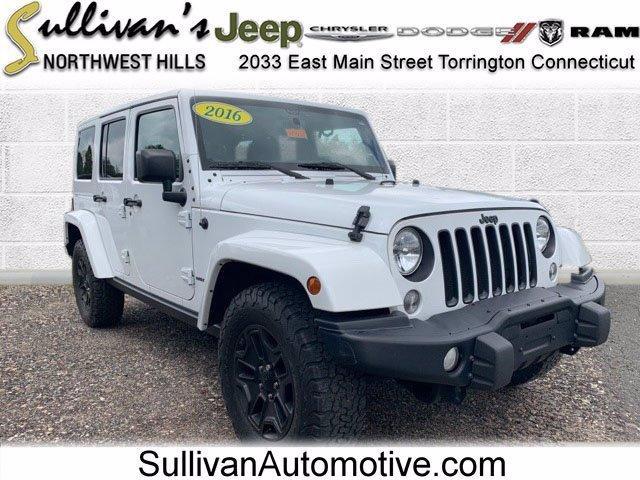 2016 Jeep Wrangler Unlimited Vehicle Photo in TORRINGTON, CT 06790-3111
