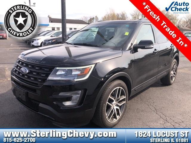 2017 Ford Explorer Vehicle Photo in Sterling, IL 61081