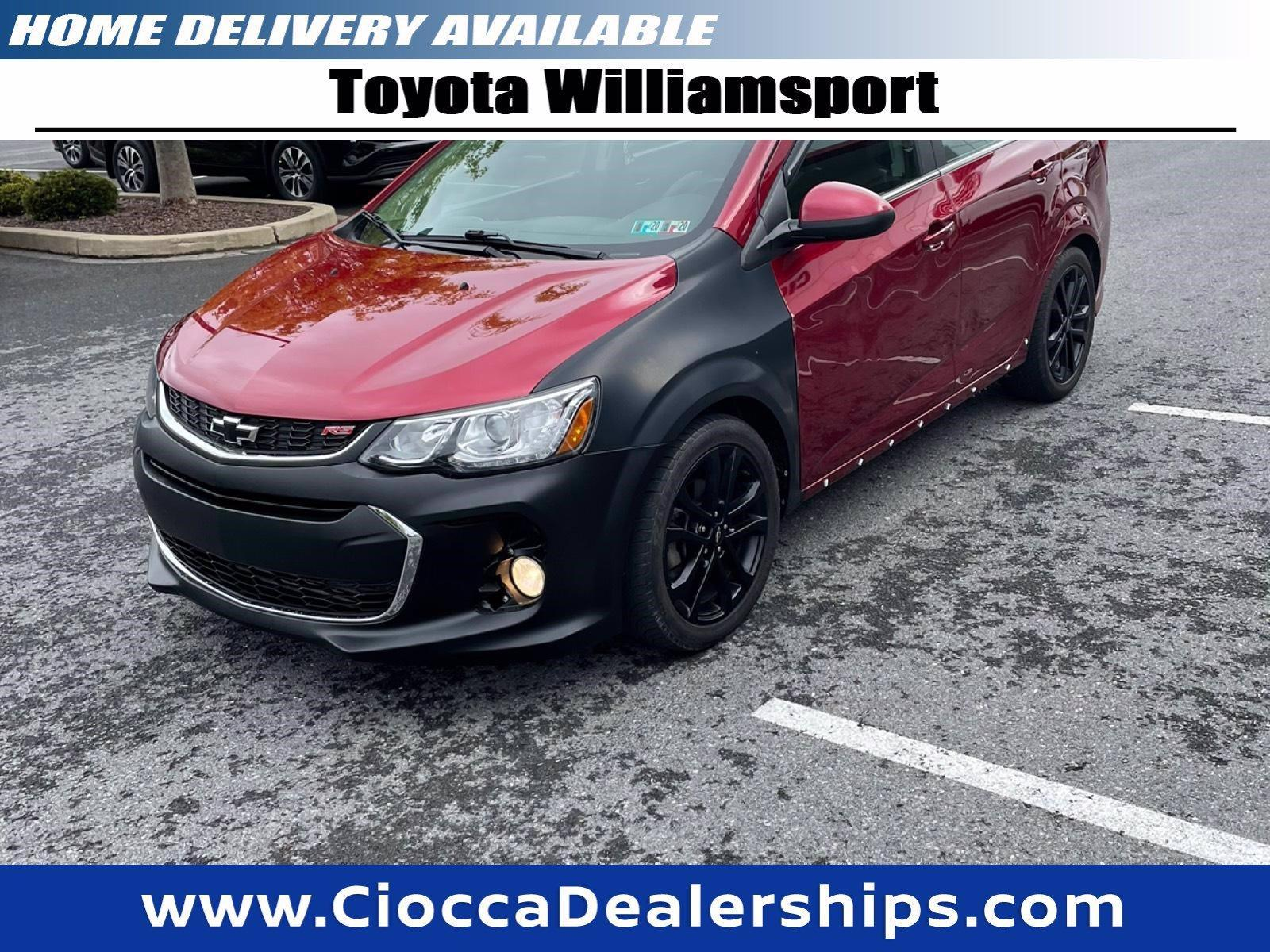 2018 Chevrolet Sonic Vehicle Photo in Muncy, PA 17756