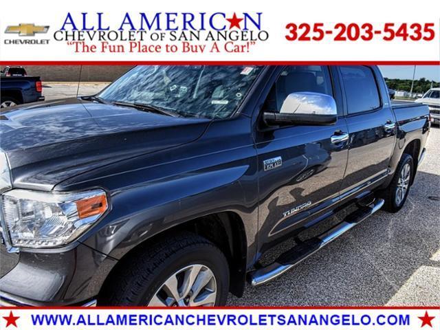 2017 Toyota Tundra 2WD Vehicle Photo in SAN ANGELO, TX 76903-5798