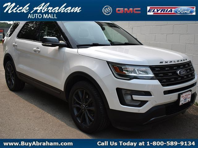 2017 Ford Explorer Vehicle Photo in ELYRIA, OH 44035-6349