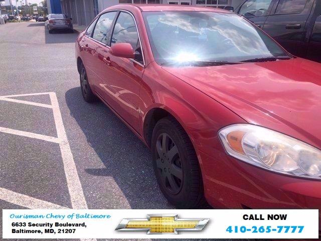 2008 Chevrolet Impala Vehicle Photo in BALTIMORE, MD 21207-4000
