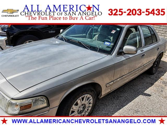 2008 Mercury Grand Marquis Vehicle Photo in SAN ANGELO, TX 76903-5798