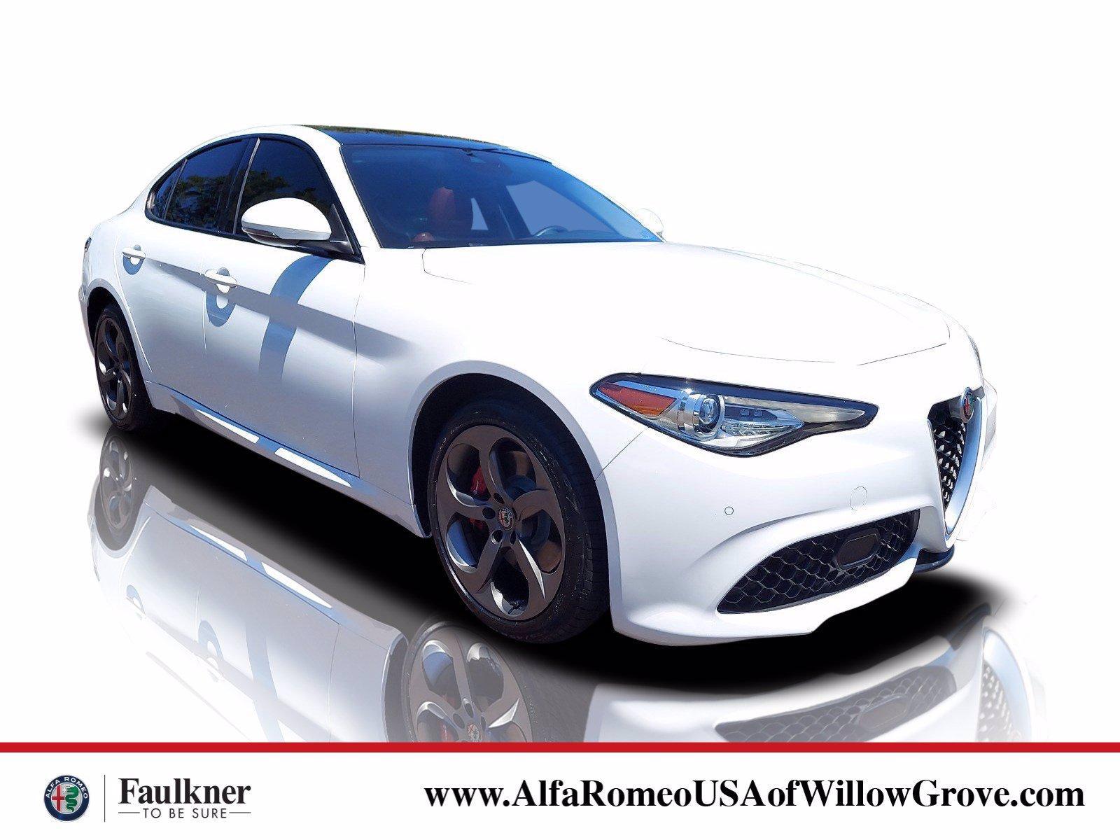 2018 Alfa Romeo Giulia Vehicle Photo in Willow Grove, PA 19090