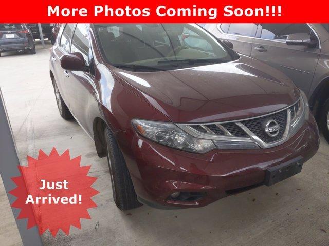 2012 Nissan Murano Vehicle Photo in SELMA, TX 78154-1460