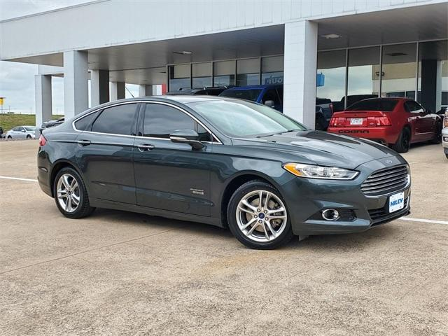 2016 Ford Fusion Energi Vehicle Photo in FORT WORTH, TX 76116-6648
