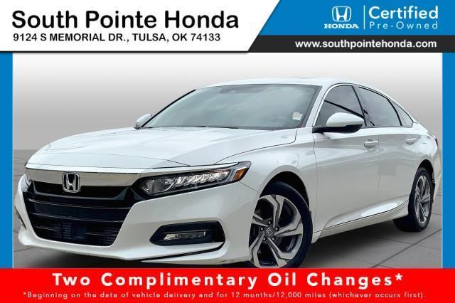 2020 Honda Accord Sedan Vehicle Photo in Tulsa, OK 74133
