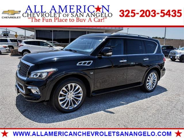 2015 INFINITI QX80 Vehicle Photo in SAN ANGELO, TX 76903-5798