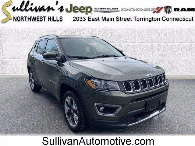2018 Jeep Compass Vehicle Photo in TORRINGTON, CT 06790-3111