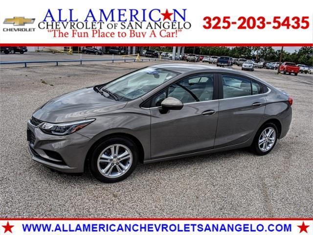 2018 Chevrolet Cruze Vehicle Photo in SAN ANGELO, TX 76903-5798