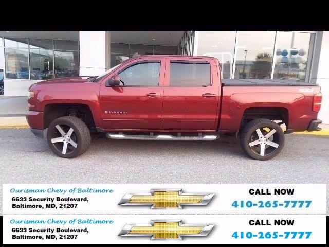 2016 Chevrolet Silverado 1500 Vehicle Photo in BALTIMORE, MD 21207-4000