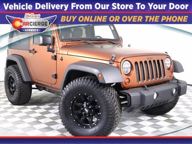 2012 Jeep Wrangler Vehicle Photo in Denver, CO 80123
