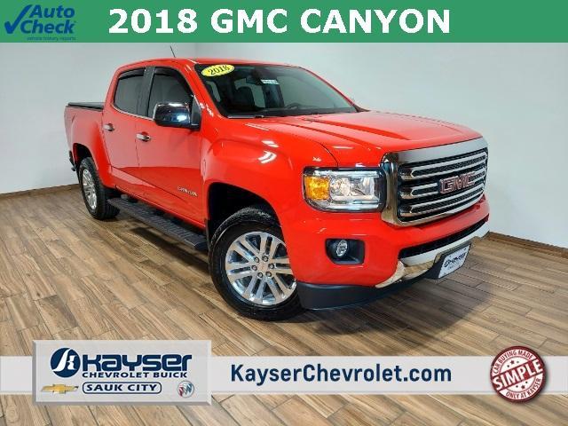2018 GMC Canyon Vehicle Photo in Sauk City, WI 53583