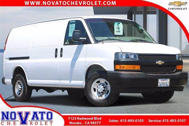2018 Chevrolet Express Cargo Van Vehicle Photo in NOVATO, CA 94945-4102