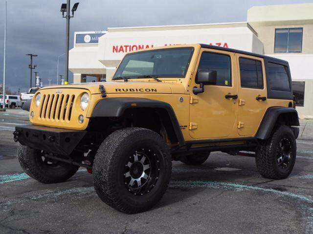 2014 Jeep Wrangler Unlimited Vehicle Photo in American Fork, UT 84003