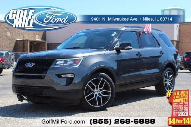2019 Ford Explorer Vehicle Photo in Plainfield, IL 60586