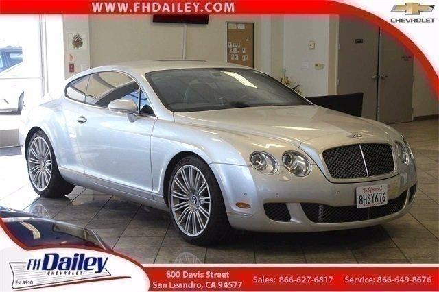 2009 Bentley Continental GT Vehicle Photo in SAN LEANDRO, CA 94577-1512