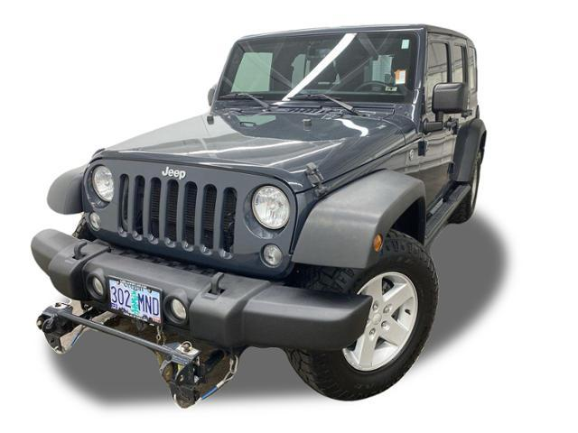 2016 Jeep Wrangler Unlimited Vehicle Photo in PORTLAND, OR 97225-3518