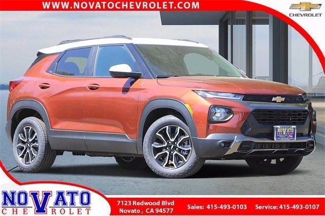 2021 Chevrolet Trailblazer Vehicle Photo in NOVATO, CA 94945-4102