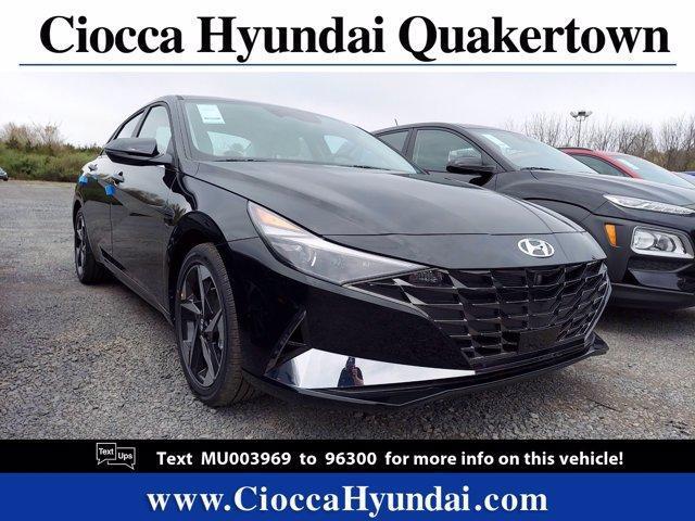 2021 Hyundai Elantra Hybrid Vehicle Photo in Quakertown, PA 18951
